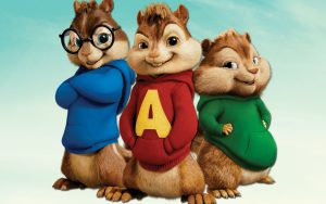 THE CHIPMUNK SONG arrangiamento per pianoforte a quattro mani